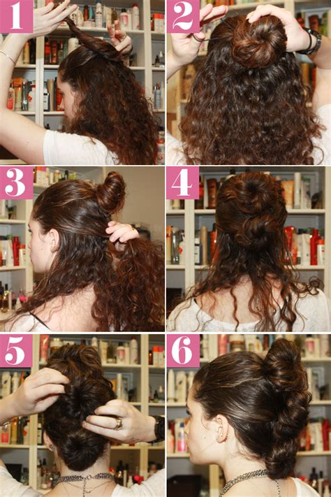 curly fauxhawk hair style simple updos  naturally