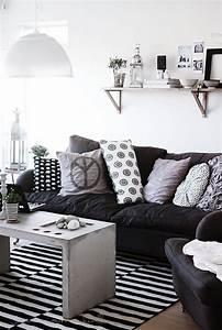 Schwarz Weiß Wohnzimmer : design leidenschaft einrichtung wohnzimmer wohnzimmer schwarz weiss und m bel ~ Orissabook.com Haus und Dekorationen