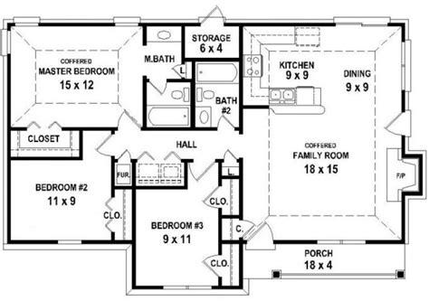 2 open floor plans 2 bedroom house plans open floor plan modern house