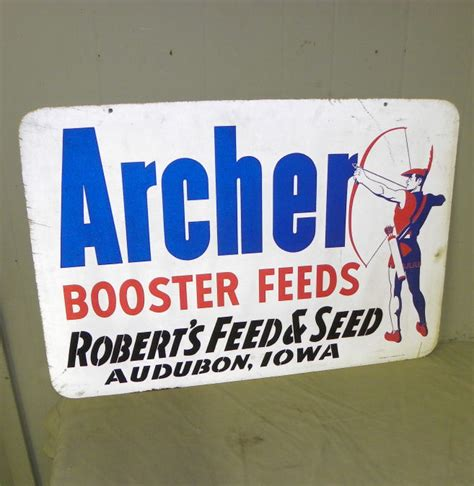Bargain John's Antiques  Archer Booster Feeds Metal. Neon Signs. Accessory Logo. Bonnie J Signs. Amber Signs. Affects Signs. Aires Signs. Silhouette Vinyl Decals. Controversial Murals