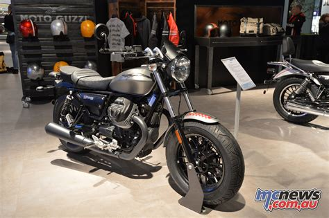 Modification Moto Guzzi V9 Bobber by 2017 Moto Guzzi V9 Bobber And Roamer Mcnews Au