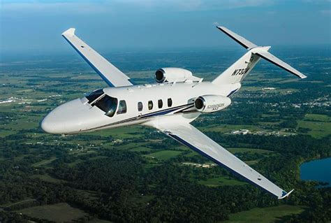 Entry Level Aircraft by Cessna Citation M2 Feature Entry Level Light Jet