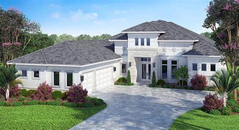 mediterranean style house plan    sq ft