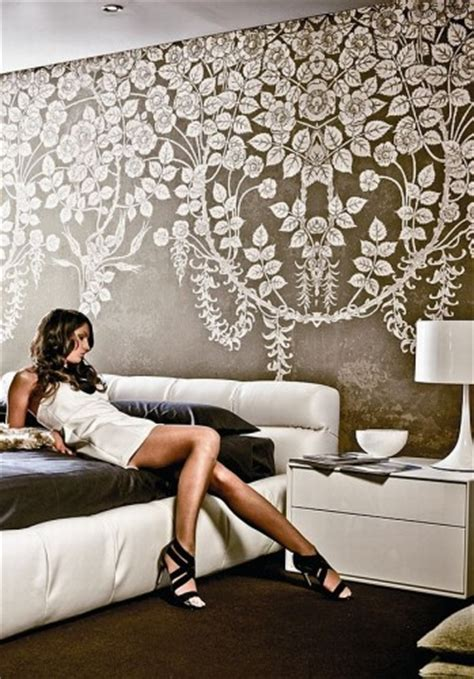 contemporary wallpaper design  grasscloth wallpaper