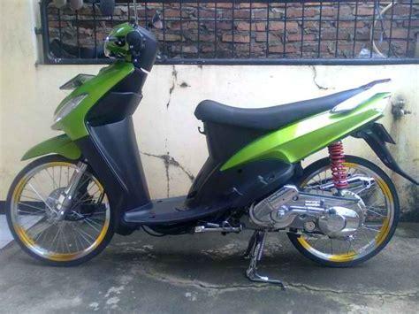 modification motors sport modifikasi mio cw th 2008