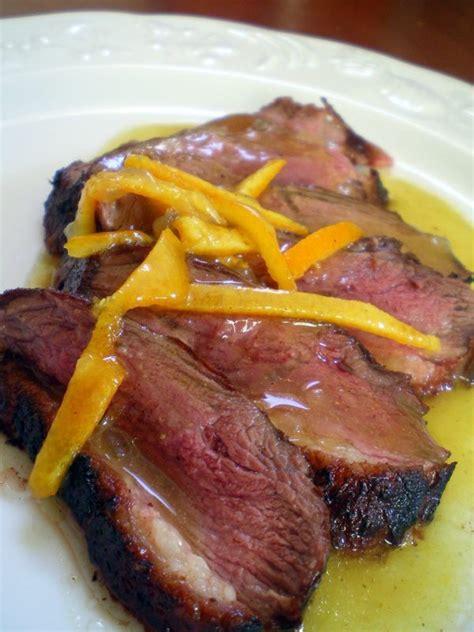 cuisiner un magret de canard a la poele magret de canard à l 39 orange cuisiner avec ses 5 sens