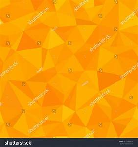Seamless - Orange Triangle (Geometric Pattern) Stock Photo ...