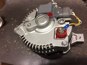 Ford Mustang 3g Small Body One Wire Alternator    Generator