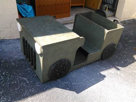 jeep wood box jeep toy box san antonio tx sold ewillys