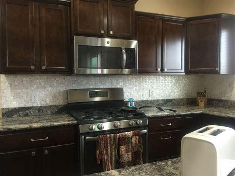 of pearl kitchen backsplash tile cabinets and dyi of pearl kitchen backsplash 9790