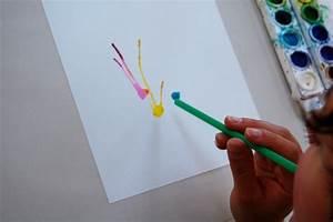 Watercolor Blow Painting  U2013 Artengine