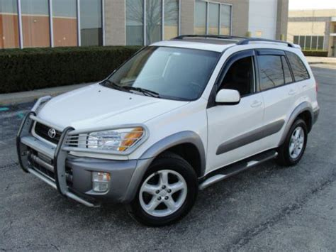 old car manuals online 2001 toyota highlander navigation system sell used 2001 toyota rav4 awd manual must see navigation dvd buper guard sirius satellite in