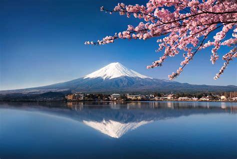 deco porte chambre mont fuji papier peint volcan vénéré au japon