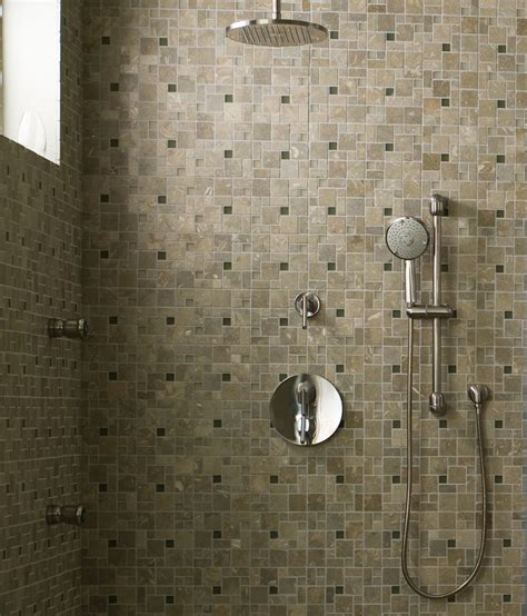 Classic Bathroom Style With Rain Shower Head Handheld