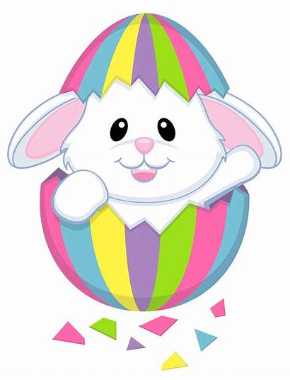 Easter Transparent Bunny Background Broken Title Type