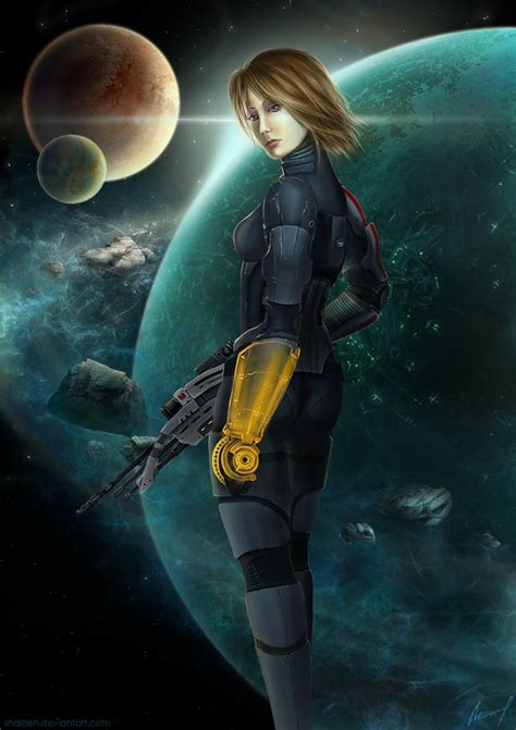 female shepard image mass effect fan group mod db