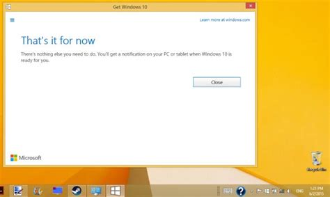 microsoft pushes free windows 10 upgrade notifications to windows 8 1 7 pc users laptoping