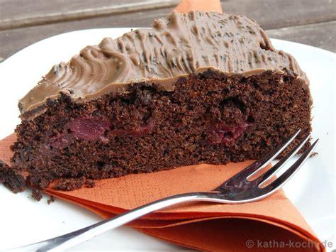 Schokokirsch Kuchen Kathakocht