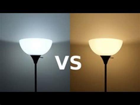 faq cool white  warm white led lampfixture bulbs youtube