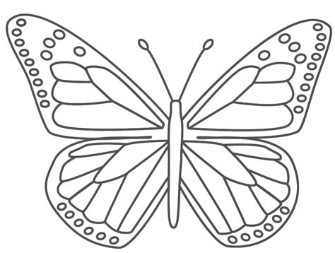 butterfly printable coloring pages coloring home