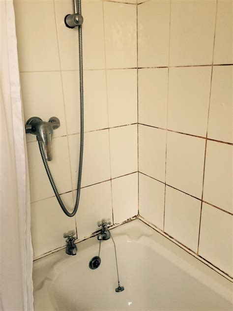 cleaning ceramic tile shower cleaning and sealing a mouldy ceramic tiled shower in