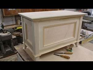 Make a Blanket Chest / Toy Chest - Part 2 - Making the Top