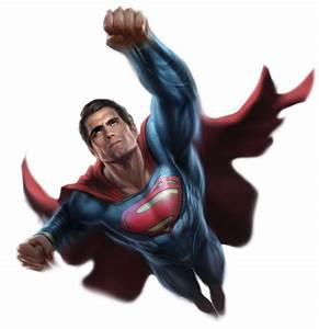 Home to Transparent Superheroes — Superman promo art for ...