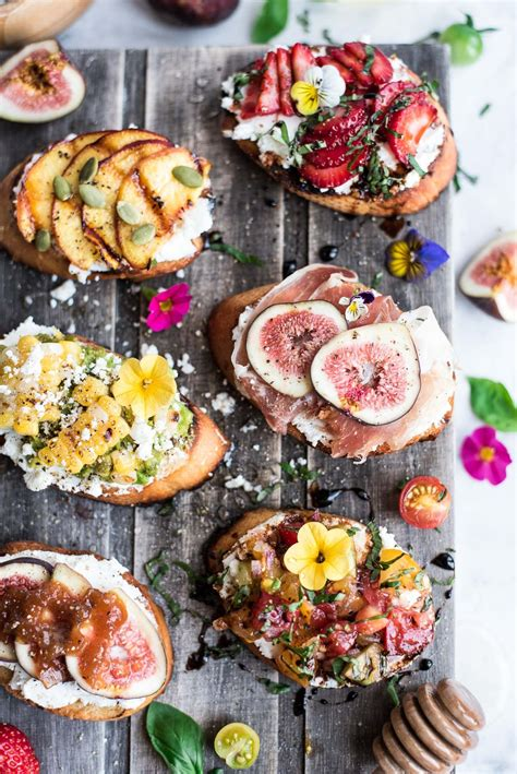Entertaining Not Far Fall by Goat Cheese Crostini Summer Gastrosenses
