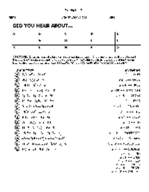 Did You Hear About Algebra Worksheet Answer Key