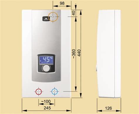 durchlauferhitzer 12 kw durchlauferhitzer elektronisch ppe2 9 12 15 kw mit lcd