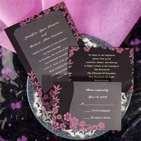formal wedding invitation wording parte