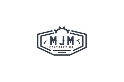 Bold, Professional, Mechanic Logo Design For Mjm
