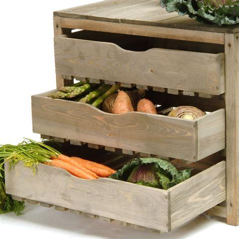 kitchen vegetable storage vegetable storage unit 3 draw unique kitchenware 3434