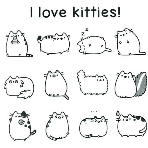 Pusheen Coloring Book Pusheen Pusheen the Cat Gatos Gatos