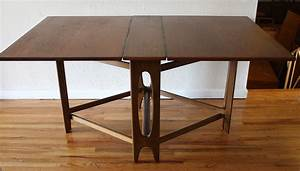 Danish folding dining table 2 Picked Vintage
