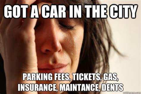 Got A Car In The City Parking Fees, Tickets, Gas