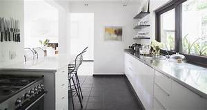space your kitchen like a spacecraft galley excellent With galley kitchen design ideas of a small kitchen