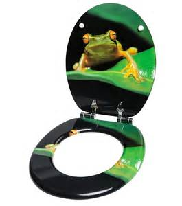 soft toilet seat green frog