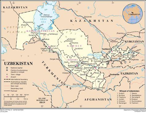 maps  uzbekistan map library maps   world