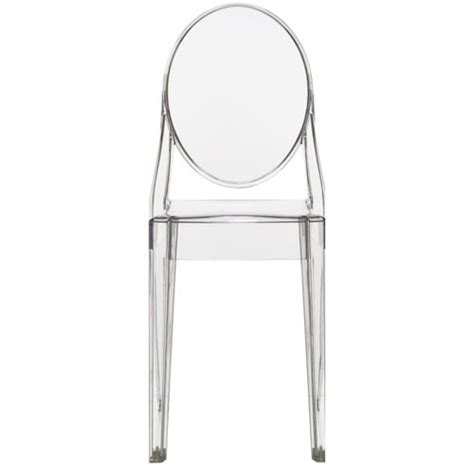chaises starck ghost ghost 174 chair kartell