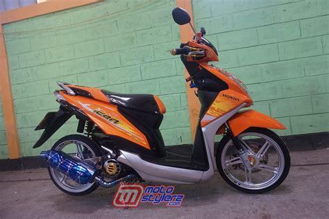 Modifikasi Beat Fi Babylook by Modifikasi Motor Honda Beat F1 Classycloud Co