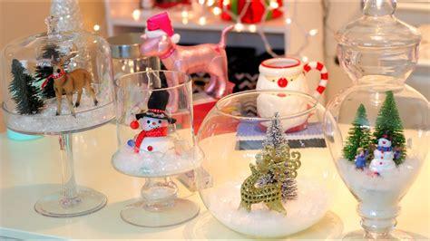 diy christmaswinter room decor christmas jars youtube
