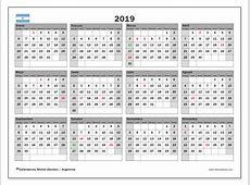 Calendario 2019, Argentina Michel Zbinden es