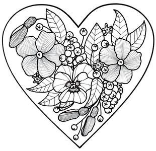 adult coloring book pages   printable