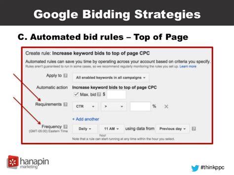 keyword bid keyword bidding strategies that will give you the most