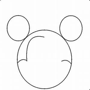 How To Draw Mickey Mouse - ClipArt Best