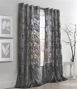Curtain glamorous curtains with grommets kitchen curtains for Grommet curtains with sheers