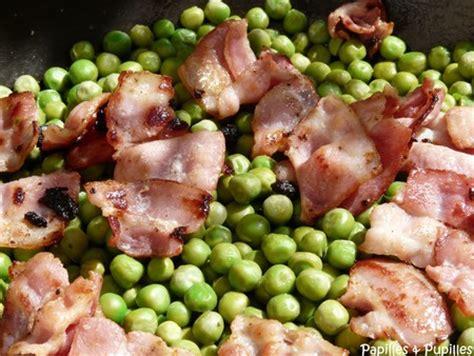 petits pois au beurre et bacon croustillant fa 231 on oliver