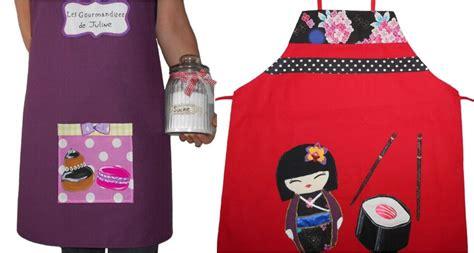 tablier de cuisine femme original tablier femme design idée cadeau original et