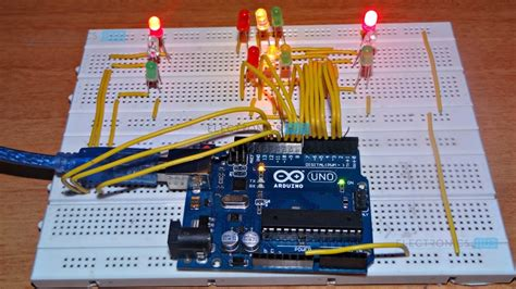 traffic light controller arduino traffic light controller